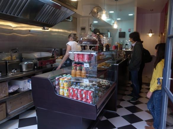East Side Burgers - intérieur